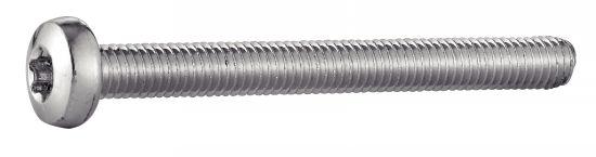 Vis à métaux tête cylindrique six lobes