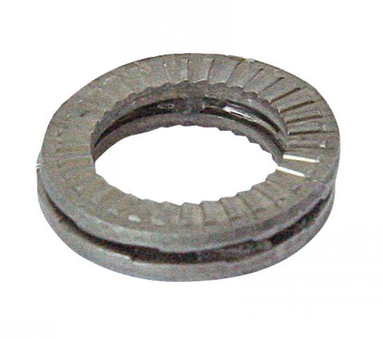Arandella nord-lock autobloquante colada efecto pendiente inox a4