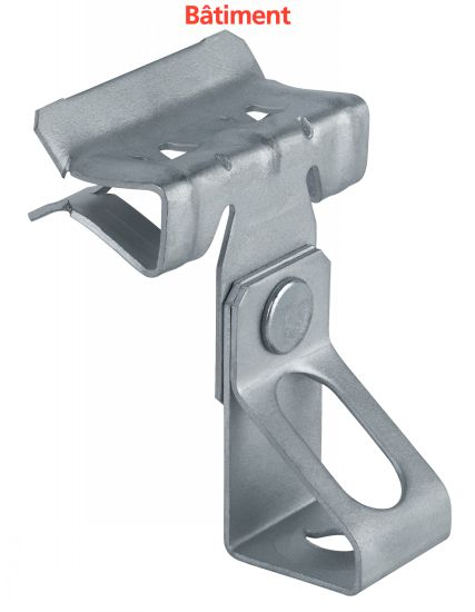 clip de fixation suspension horizontale par tige filet e. Black Bedroom Furniture Sets. Home Design Ideas