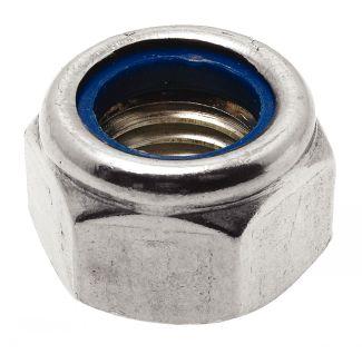 Ecrou hexagonal autofreiné à anneau non métallique
