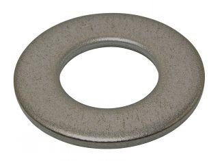 Arandela plana media m nfe 25513 acero 100 hv zincado blanco