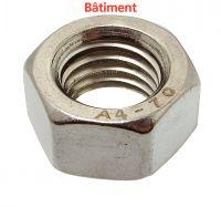 TUERCA HEXAGONAL DIN 934 - INOX A4 BATIMENT Inox A4 DIN 934 (Modelo : 64601)