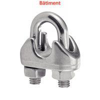 GRAMPA PARA CABLES CON ESTRIBO BATIMENT Inox A4 (Modelo : 64906)