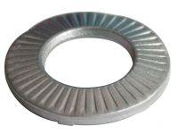Rondelle conique striée de serrage CS à picots